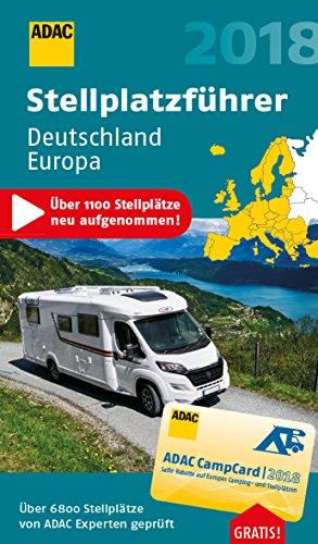 adac stellplatzf hrer deutschland europa 2018 mit zwei. Black Bedroom Furniture Sets. Home Design Ideas