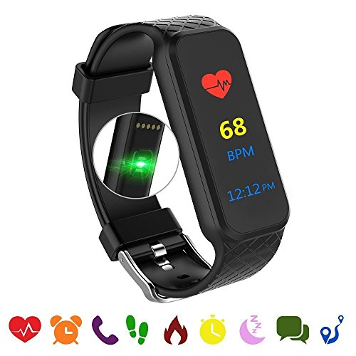 endubro fitness armband fitness tracker mit herzfrequenz. Black Bedroom Furniture Sets. Home Design Ideas