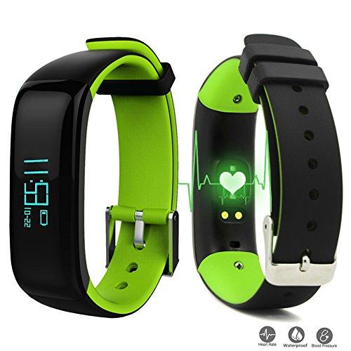 roguci oled fitness armband tracker uhr handgelenk. Black Bedroom Furniture Sets. Home Design Ideas