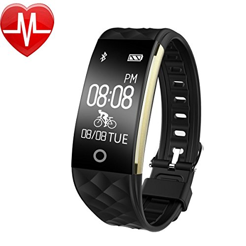 wasserdichte pulsuhr bluetooth smart armband uhr fitness tracker mit schlaf berwachung. Black Bedroom Furniture Sets. Home Design Ideas