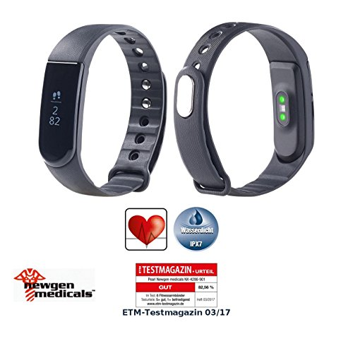 newgen medicals fitnessarmband fitness armband blutdruck herzfrequenz anzeige bluetooth. Black Bedroom Furniture Sets. Home Design Ideas
