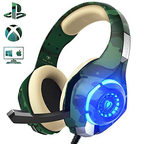 gaming headset f r ps4 pc beexcellent profi spieler s. Black Bedroom Furniture Sets. Home Design Ideas