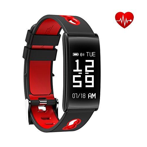 fitness tracker armband mit handgelenk basiert herzfrequenz blut druck monitor ip68. Black Bedroom Furniture Sets. Home Design Ideas