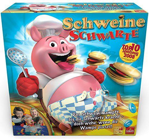 goliath 30341 schweine schwarte kinder gesellschaftsspiel ausgezeichnetes kinder spiel mit. Black Bedroom Furniture Sets. Home Design Ideas
