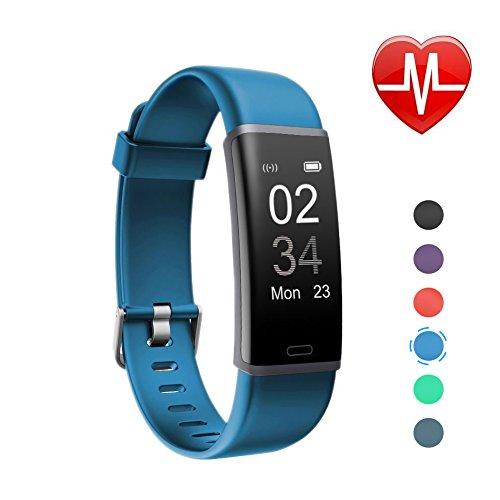Letsfit Schrittzähler Fitness Tracker mit Pulsmesser ...