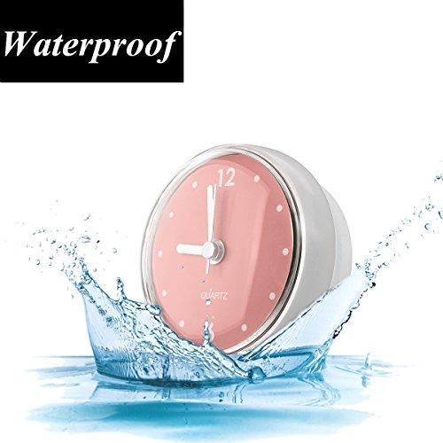 Kreative Badezimmer Uhr Mini Wasserdichte Uhr Mit Saugnapf Fur