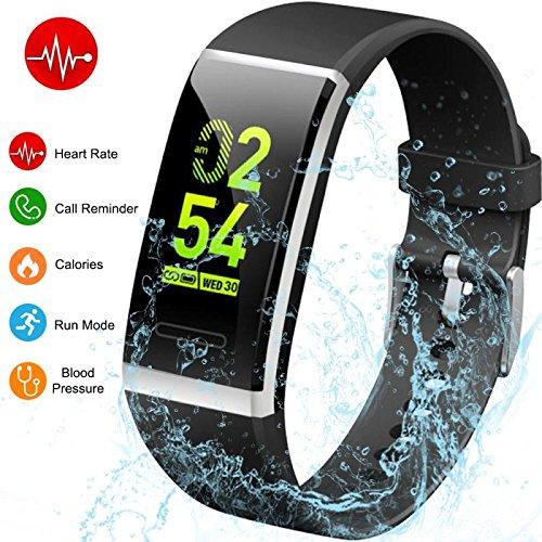 fitness armband mit pulsmesser hetp fitness tracker uhr. Black Bedroom Furniture Sets. Home Design Ideas