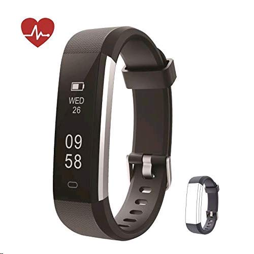 kingsky fitness armband mit herzfrequenz fitness tracker. Black Bedroom Furniture Sets. Home Design Ideas