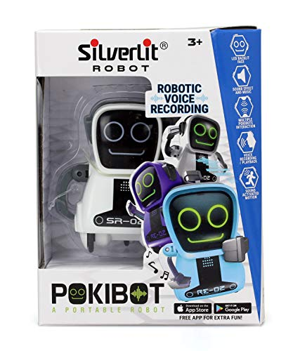 silverlit 88042 bin rund pokibot roboter aotmac. Black Bedroom Furniture Sets. Home Design Ideas